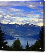 Lake Of Como View Acrylic Print