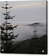 Lake Of Low Clouds Acrylic Print