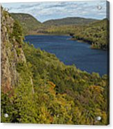 Lake Of The Clouds 4 Acrylic Print