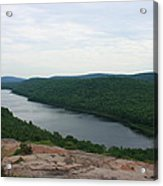 Lake Of The Clouds Acrylic Print