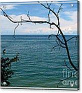 Lake Ontario Near Chimney Bluffs Acrylic Print