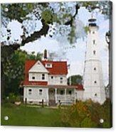 Lake Park Lighthouse Acrylic Print