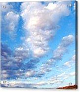 Lake Powell Clouds Acrylic Print by Thomas R Fletcher