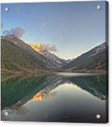 Lake Saiful Muluk Panorama Acrylic Print