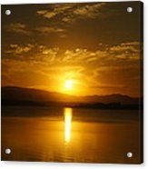 Lake Samsonvale Sunset Acrylic Print