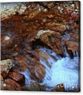 Lake Shasta Waterfall  Acrylic Print