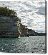 Lake Superior Pictured Rocks 10 Acrylic Print