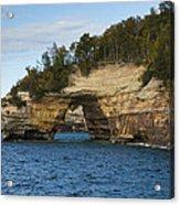 Lake Superior Pictured Rocks 17 Acrylic Print