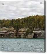 Lake Superior Pictured Rocks 45 Acrylic Print