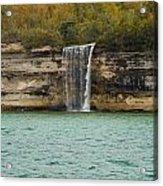Lake Superior Pictured Rocks 48 Acrylic Print