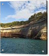 Lake Superior Pictured Rocks 6 Acrylic Print