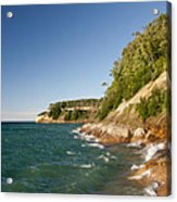Lake Superior Shoreline Acrylic Print