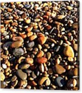 Lake Superior Stones Acrylic Print