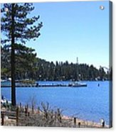 Lake Tahoe Dock Acrylic Print
