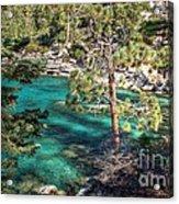 Lake Tahoe Swimming Hole Acrylic Print