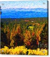 Lake Tahoe Acrylic Print by Wingsdomain Art and Photography