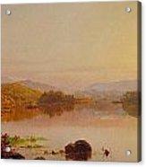 Lake Wawayanda Acrylic Print