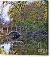 Lake Wingra Bridge Acrylic Print