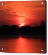 Lake Wingra Sunrise Acrylic Print