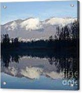 Lake With Mountain Acrylic Print