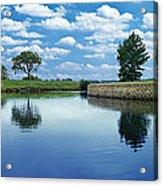 Lakeridge Duck Pond Acrylic Print