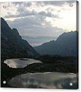 Lakes In Dolomiti Acrylic Print