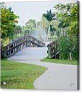 Lakes Park Acrylic Print