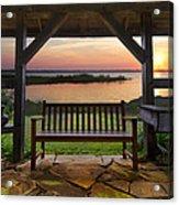 Lakeside Serenity Acrylic Print