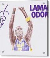 Lamar Odom Acrylic Print