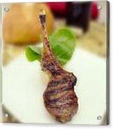 Lamb Chop One Acrylic Print