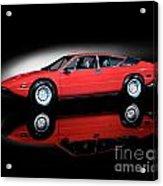 Lamborghini Urraco 1972 Acrylic Print