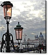 Lamp At Venice Acrylic Print