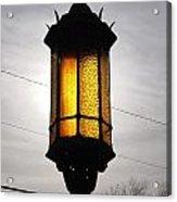 Lamp Post At The Church Acrylic Print