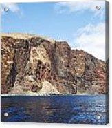 Lanai Sea Cliffs Acrylic Print