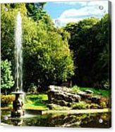 Lancaster Fountain Acrylic Print