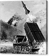 Lance Missile, C1980 Acrylic Print