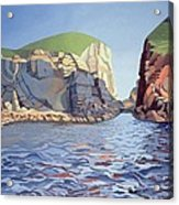 Land And Sea No I - Ramsey Island Acrylic Print