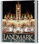 Landmark Center Winter Acrylic Print