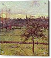 Landscape At Eragny Acrylic Print