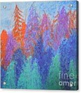 Landscape- Color Palette Acrylic Print