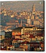 Landscape, Istanbul Acrylic Print by Photo by Bernardo Ricci Armani