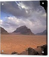 Landscape Of The Desert Acrylic Print by Richard Nowitz