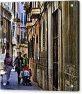 Lane In Palma De Majorca Spain Acrylic Print