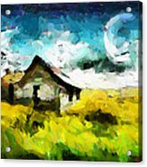 Lanscape With A House Tnm Acrylic Print