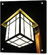 Lantern In The Night Acrylic Print