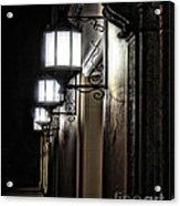 Lanterns Symmetry Acrylic Print