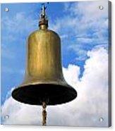 Large Bell Acrylic Print