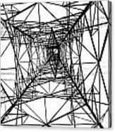 Large Electricity Powermast Acrylic Print