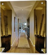 Large Hallway In Upscale Residence Acrylic Print by Andersen Ross