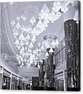 Large Mall Lobby Acrylic Print
